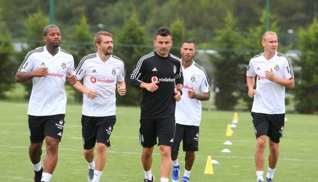 Beşiktaş'ta Ricardo Quaresma takımla birlikte çalıştı