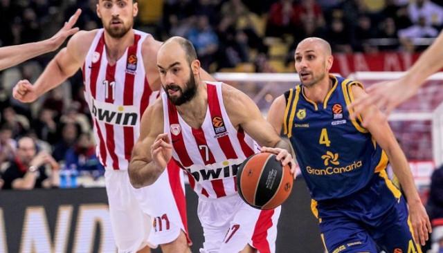 Olympiakos, Vassilis Spanoulis ile 1 yıl daha