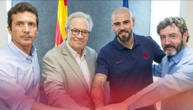 Barcelona efsane ismi Victor Valdes'i resmen açıkladı