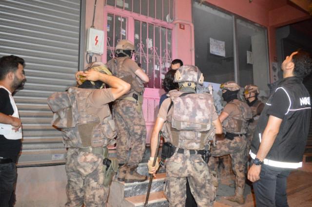 İstanbul'da 600 polisle dev opersayon
