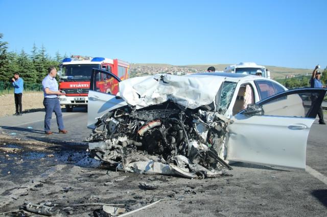 Ankara'da zincirleme kaza: 3 ölü