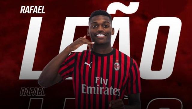 Milan, Rafael Leao transferini açıkladı