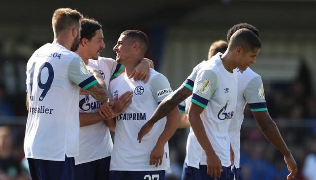 Drochtersen/Assel 0 - 5 Schalke 04 (Almanya Kupası)