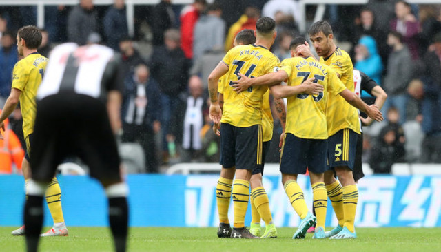 Newcastle United 0 - 1 Arsenal