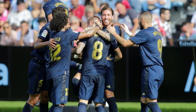 Celta Vigo 1 - 3 Real Madrid