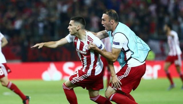 Olympiakos 4 - 0 Krasnodar (Şampiyonlar Ligi Play-Off turu)
