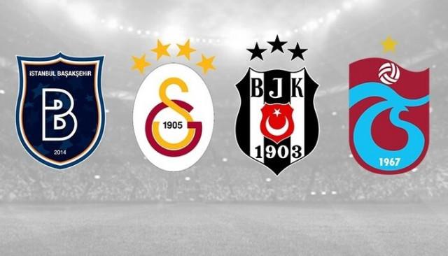Galatasaray, Beşiktaş, Medipol Başakşehir ve Trabzonspor'u zorlu maç trafiği bekliyor
