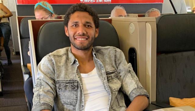 Beşiktaş'ın yeni transferi Mohamed Elneny İstanbul'a geldi