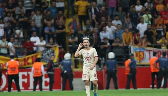 Emre Mor, Kayserispor maçında kırmızı kart gördüğü için özür diledi