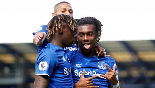 Everton 3 - 2 Wolverhampton