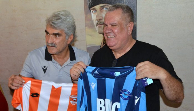 Adanaspor ve Adana Demirspor teknik direktörleri bir araya geldiler