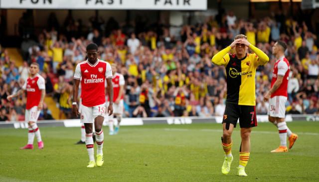 Watford 2 - 2 Arsenal