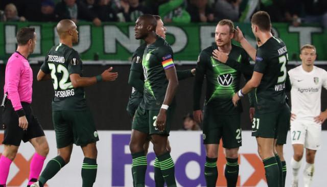 Wolfsburg 3 - 1 Olexandriya (UEFA Avrupa Ligi)