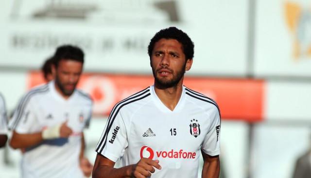 Mohamed Elneny, Beşiktaş ile ilk antrenmanına çıktı