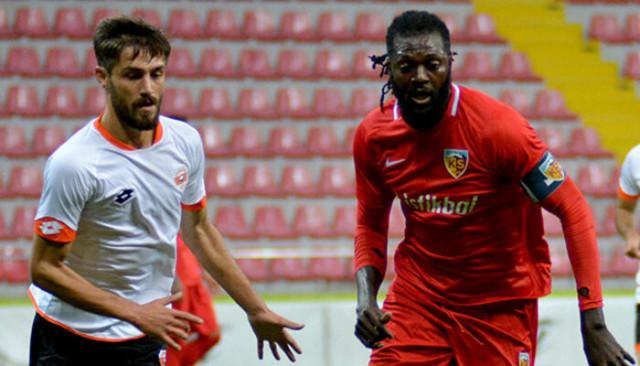 Kayserispor hazırlık maçında Adanaspor'u 4-1 yendi