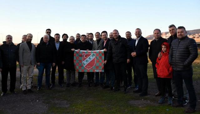 Karşıyaka'nın tesis hamlesine Hamza Dağ desteği