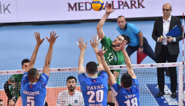 Bursa Büyükşehir Belediyespor - İnegöl Belediyespor: 3-1