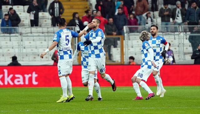 ÖZET | Beşiktaş - Erzurumspor maç sonucu: 2-3