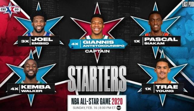 NBA All-Star maçının kaptanları belli oldu