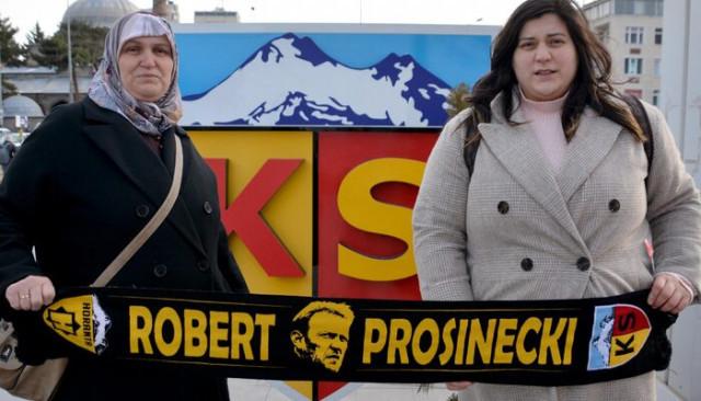 Kayserispor'un fanatik gurbetçi taraftarı maç için memleketinde