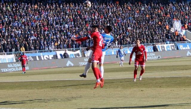 TFF 1. Lig: BB Erzurumspor: 1 - Balıkesirspor: 0 (Maç sonucu)
