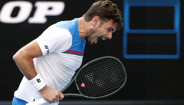 Avustralya Açık'ta eski şampiyon Stanislas Wawrinka, Daniil Medvedev'i eledi