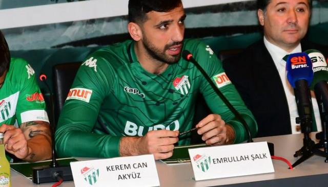 Emrullah Şalk: Bursaspor'un yeri Süper Lig