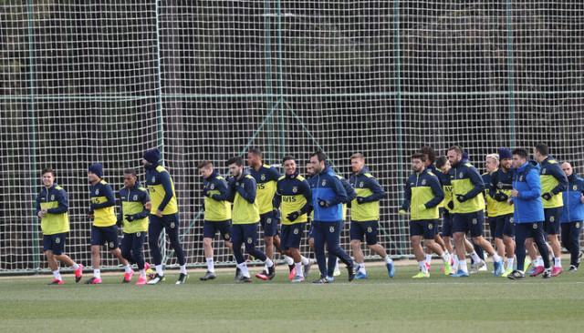 Fenerbahçe, Trabzonspor maçının hazırlıklarını sürdürdü