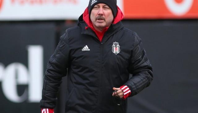 Sergen Yalçın, Beşiktaş ile ilk antrenmanına çıktı