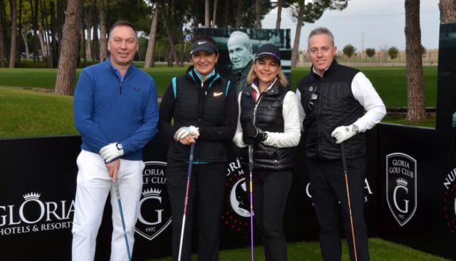 İngiliz futbolcu David Platt, Özaltın Golf Turnuvası'nda