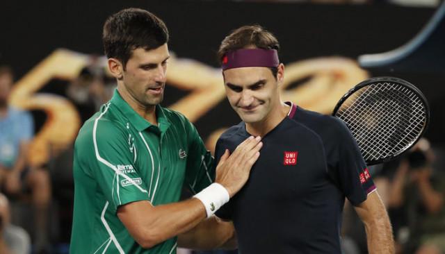Avustralya Açık'ta Roger Federer'i yenen Novak Djokovic ilk finalist oldu
