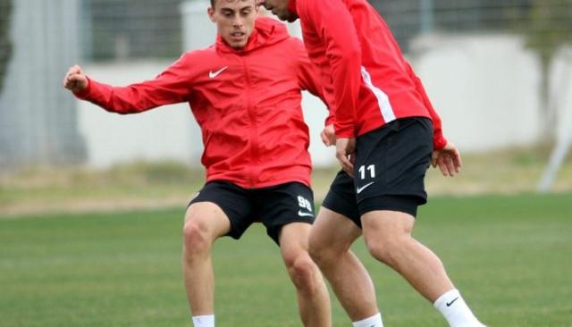 Antalyaspor İH Konyaspor maçının provasını yaptı