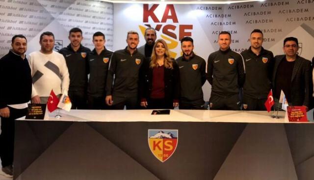 Hes Kablo Kayserispor, devre arasında 9 transfer yaptı