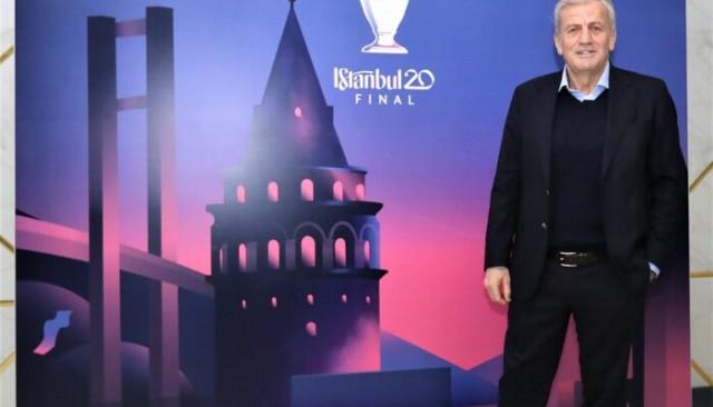 Servet Yardımcı: Atatürk Olimpiyat Stadı, UEFA'dan tam not aldı