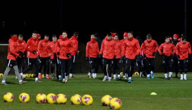 Kayserispor, Galatasaray maçı hazırlıklarını sürdürdü