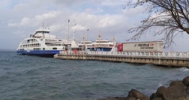 Çanakkale'de bazı deniz seferleri iptal edildi