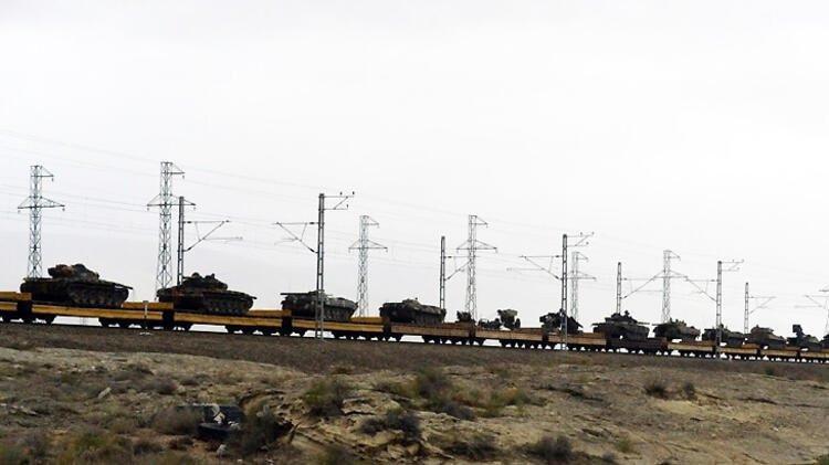 Azerbaycan ordusu 27 yıl sonra Ağdam'da!