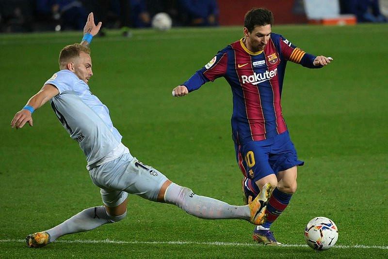 Messi Pele'nin rekoruna ortak oldu