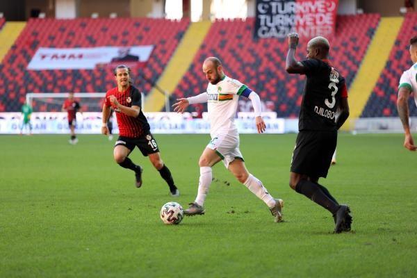Alanyaspor, Gaziantep'e 3-1 yenildi