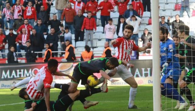 Süper Lig: Antalyaspor: 0 - Konyaspor: 0 (Maç sonucu)