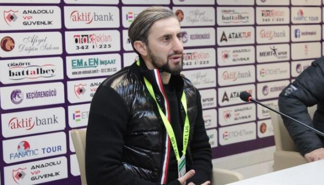 Serkan Özbalta: Ligi ilk 6'nın içinde bitirmeyi hedefliyoruz