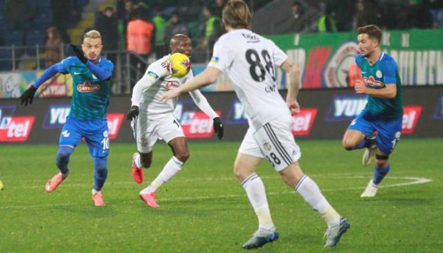 ÖZET | Çaykur Rizespor - Beşiktaş maç sonucu: 1-2