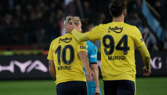 Fenerbahçeli Vedat Muriqi ve Nabil Dirar'dan açıklamalar