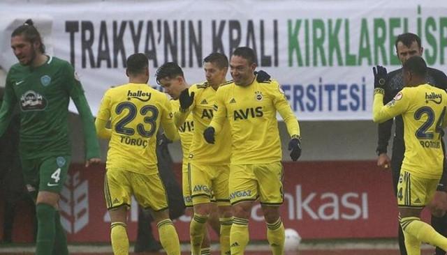 Fenerbahçe - Kırklarelispor maçı canlı izle | FB canlı maç izle