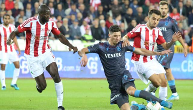Sivasspor'dan Trabzonspor'a teşekkür
