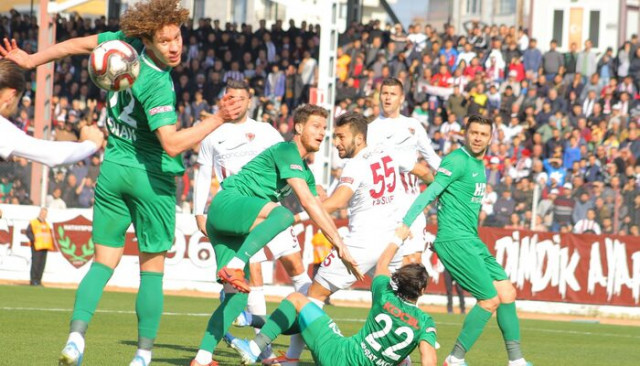 Hatayspor - Giresunspor: 1-1