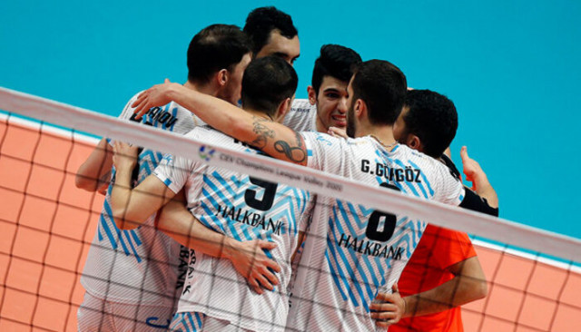 Halkbank, CEV Şampiyonlar Ligi'ne veda etti