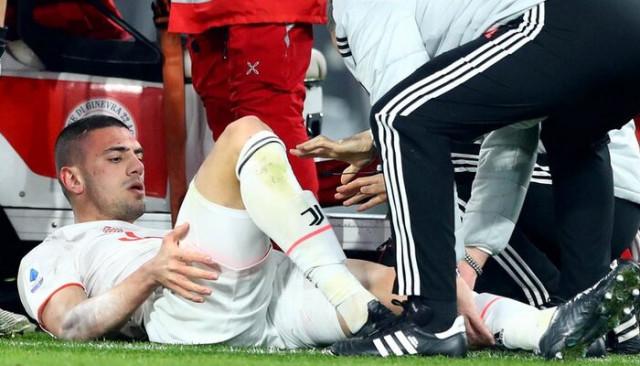 Merih Demiral'ın sakatlığı İtalyan basınında: Sezonu kapattı, EURO 2020'de forma giyemeyecek