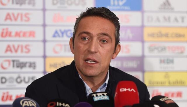 Ali Koç, Ersun Yanal ve futbolcularla buluştu