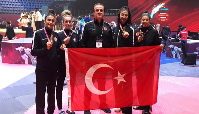 Olimpik Tekvando Takımı, Dubai'de şampiyon